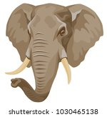 vector color illustration   the ... | Shutterstock .eps vector #1030465138