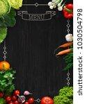 design concept for restaurant... | Shutterstock . vector #1030504798