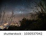 framing of milkyway over the... | Shutterstock . vector #1030537042