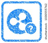 ripple coin unknown status... | Shutterstock .eps vector #1030555762