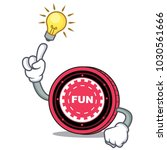 have an idea funfair coin... | Shutterstock .eps vector #1030561666