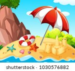 background scene with... | Shutterstock .eps vector #1030576882