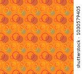 pattern seamless memphis retro... | Shutterstock .eps vector #1030579405