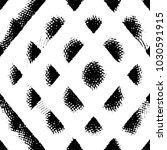 grunge halftone black and white ... | Shutterstock . vector #1030591915