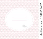 cute greeting card with whale.... | Shutterstock . vector #1030592632
