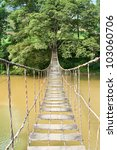 Hanging Bridge To A Place Of...