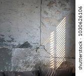 vintage wall sunbeam | Shutterstock . vector #1030626106