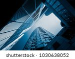 commercial building in... | Shutterstock . vector #1030638052