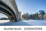 the centre street bridge at... | Shutterstock . vector #1030643446