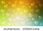 light green  yellow vector... | Shutterstock .eps vector #1030651606