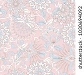 elegance seamless pattern with... | Shutterstock .eps vector #1030694092