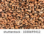 A Pile Of Wood Pile