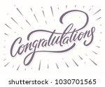 congratulations. greeting card.   Shutterstock .eps vector #1030701565