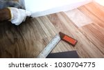home renovate with vinyl... | Shutterstock . vector #1030704775