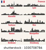 vector city skylines... | Shutterstock .eps vector #1030708786