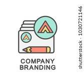 icon company branding.... | Shutterstock .eps vector #1030721146