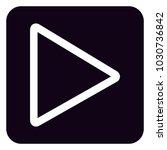 play button icon | Shutterstock .eps vector #1030736842