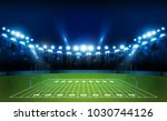 american football arena field... | Shutterstock .eps vector #1030744126
