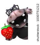 fun hippo   3d illustration | Shutterstock . vector #1030751212