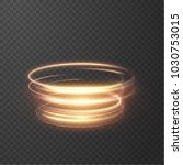 glowing shiny spiral lines... | Shutterstock .eps vector #1030753015