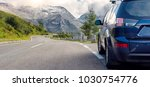 car for traveling with a roof... | Shutterstock . vector #1030754776