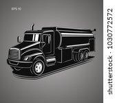 tank truck vector illustration. ...   Shutterstock .eps vector #1030772572