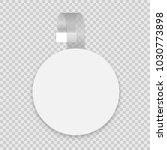 vector blank round wobbler with ... | Shutterstock .eps vector #1030773898