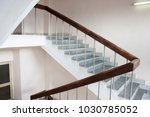 stairwell in the hospital | Shutterstock . vector #1030785052