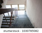 stairwell in the hospital | Shutterstock . vector #1030785082