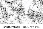 distressed black and white... | Shutterstock .eps vector #1030794148