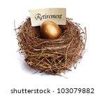 golden nest egg concept for... | Shutterstock . vector #103079882