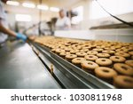 cookie factory  food industry.... | Shutterstock . vector #1030811968