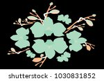 abstract orchid pattern. gentle ... | Shutterstock .eps vector #1030831852