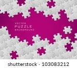 vector abstract purple... | Shutterstock .eps vector #103083212