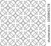 seamless geometric ornamental... | Shutterstock .eps vector #1030842178
