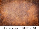 rusty metal texture background... | Shutterstock . vector #1030845418