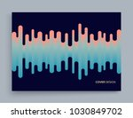 cover design template. abstract ... | Shutterstock .eps vector #1030849702