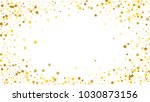golden stars background.... | Shutterstock .eps vector #1030873156