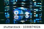 car design   3d illustration | Shutterstock . vector #1030874026