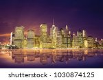 amazing view of the lower... | Shutterstock . vector #1030874125