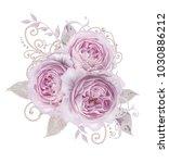 decorative decoration  paisley... | Shutterstock . vector #1030886212