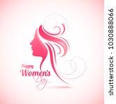 happy women's day celebration...   Shutterstock .eps vector #1030888066