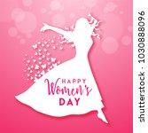 happy women's day celebration... | Shutterstock .eps vector #1030888096