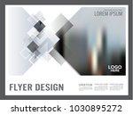 black and white flyer design... | Shutterstock .eps vector #1030895272