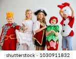 kids costume party | Shutterstock . vector #1030911832