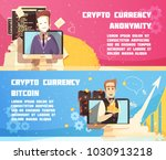 cryptocurrency horizontal... | Shutterstock .eps vector #1030913218