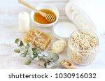 natural ingredients for... | Shutterstock . vector #1030916032