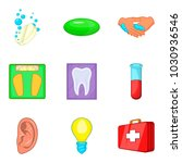 medical expertise icons set.... | Shutterstock .eps vector #1030936546