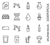 flat vector icon set   search... | Shutterstock .eps vector #1030939216
