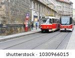 prague  czech republic   may 7  ... | Shutterstock . vector #1030966015